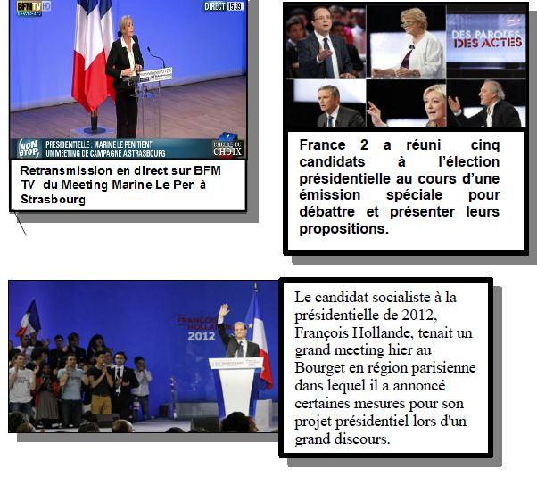 Que font les acteurs politiques dans les campagnes électorales ?