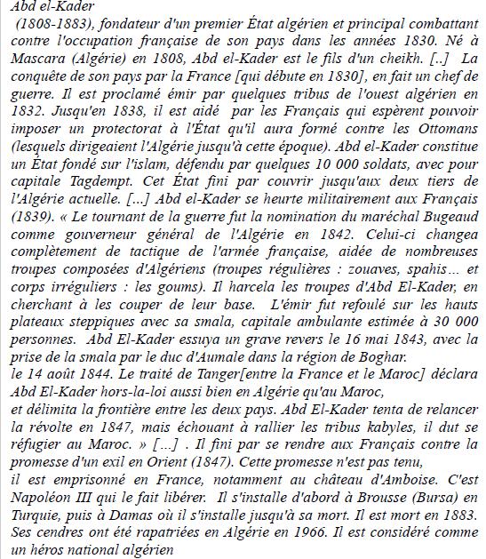 Comment la France a-t-elle pris le contrôle de  l'Algérie ?