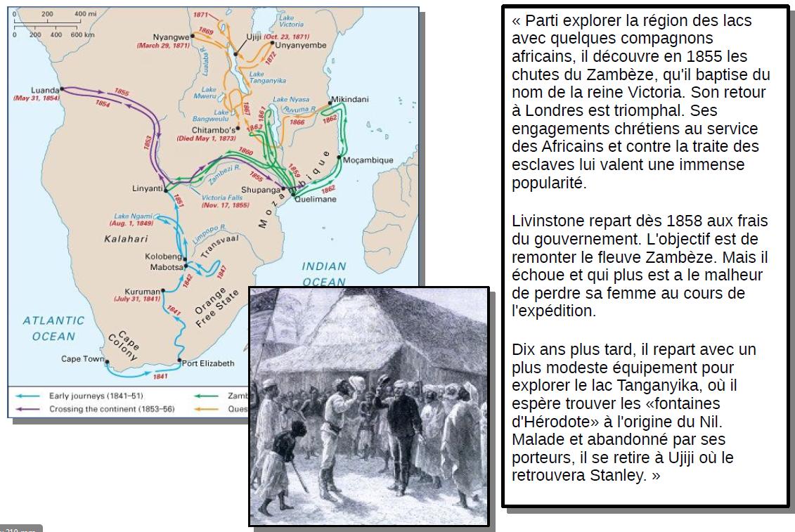 Quelle est la 1ère étape de la conquête coloniale en Afrique ?
