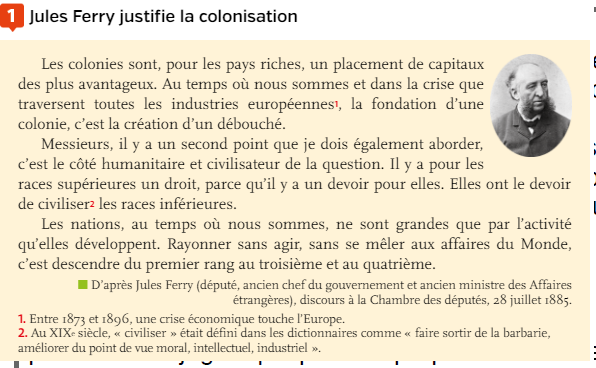 Quelles sont les motivations économiques des Européens dans le processus de colonisation ?