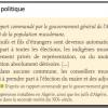 Comment se manifeste l'inégalité politique entre Européens et indigènes dans les colonies françaises ?