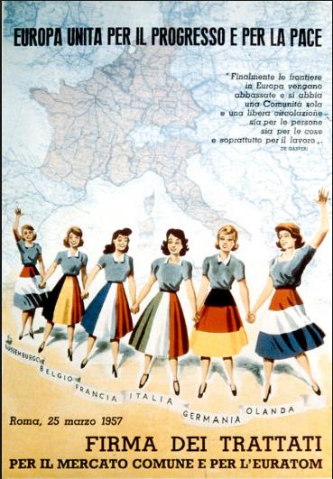 Quelle organisation est créée suite à la signature du Traité de Rome en 1957 ?