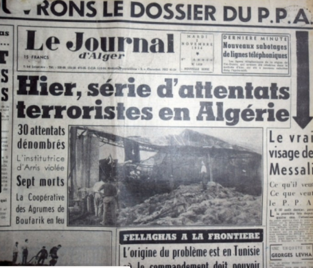 Quand éclate la guerre d'Algérie