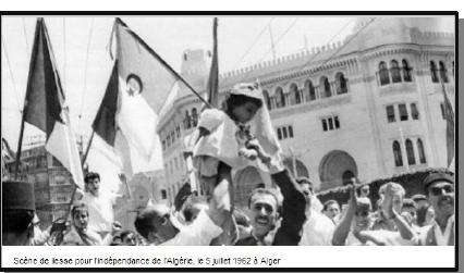 Que devient l'Algérie après l'indépendance ?