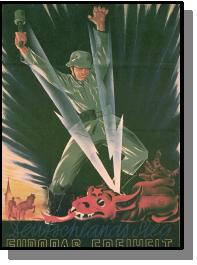 Quels sont les objectifs d'Hitler et des nazis durant la guerre germano-soviétique ?