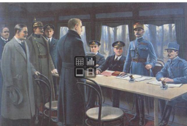 Quand se termine la 1ère guerre mondiale sur le front ouest ?