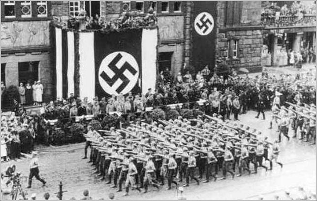 Quel est le nom du parti politique d'Adolf Hitler ?
