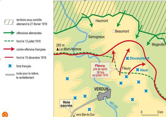 Quand se déroule la bataille de Verdun ?