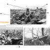 Quelles sont les armes utilisées lors de la guerre de tranchées en 1916 ?