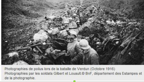 Quelles sont les conditions de vie des soldats durant la guerre des tranchées ?