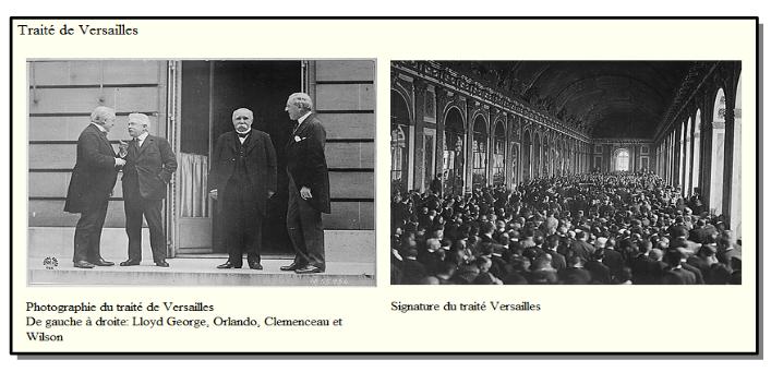 Quel traité de paix met définitivement fin au conflit avec l'Allemagne ?