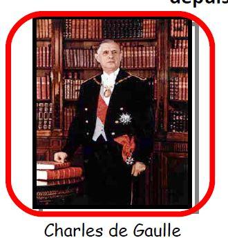 Qui est le fondateur de la Vème République ?