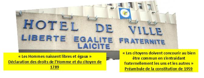 Quelles sont les valeurs prônées par la République Française ?