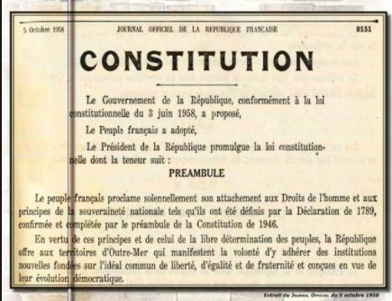 Quels sont les principes de la République française ?