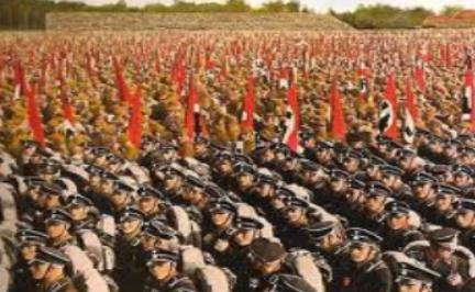 Quel est le nom des deux organisations paramilitaires des nazis ?