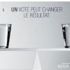 Quel problème de la démocratie française est mis en avant par cette affiche ?