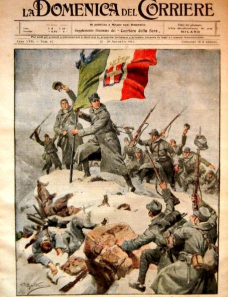 Quel pays entre en guerre dans le camp de l'Entente en 1915 ?