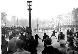 Quel événement met en évidence la crise politique qui menace la République durant les années 1930