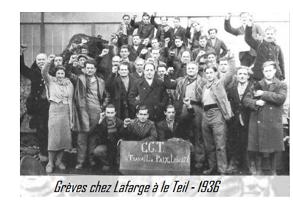 Que déclenche la victoire du Front populaire aux élections de 1936 ?